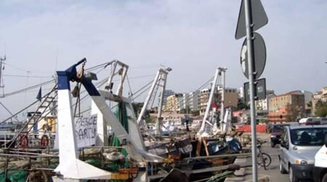 La protesta dei pescatori
