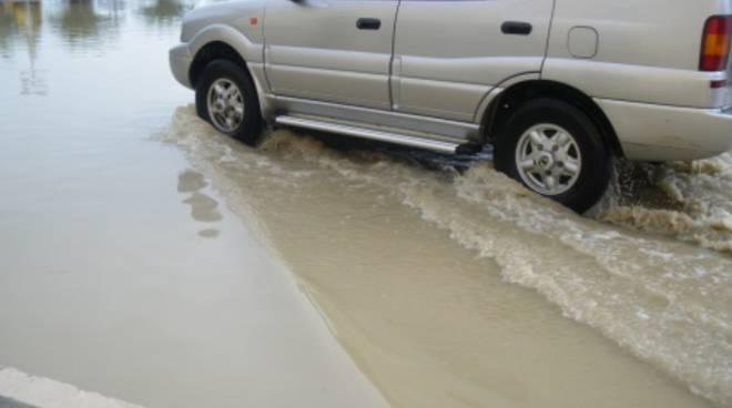 Case allagate, strade nel fango: allerta meteo in Basso Molise