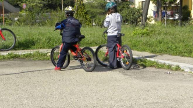 Piccoli ciclisti crescono