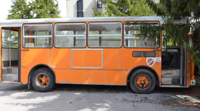 Il 'cimitero' degli autobus dimenticato