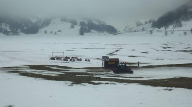 Sulla neve di Campitello Matese