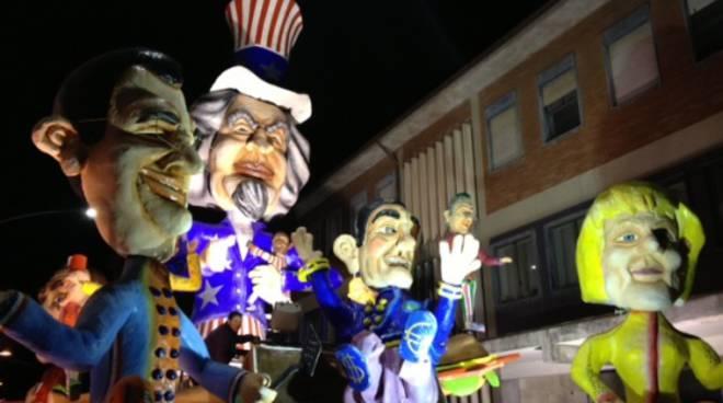 I carri del Carnevale di Larino