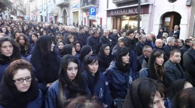 Teco Vorrei: i volti della processione