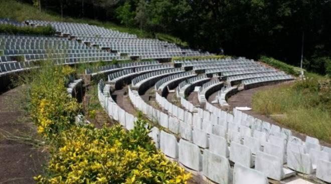 Teatro Verde all'abbandono