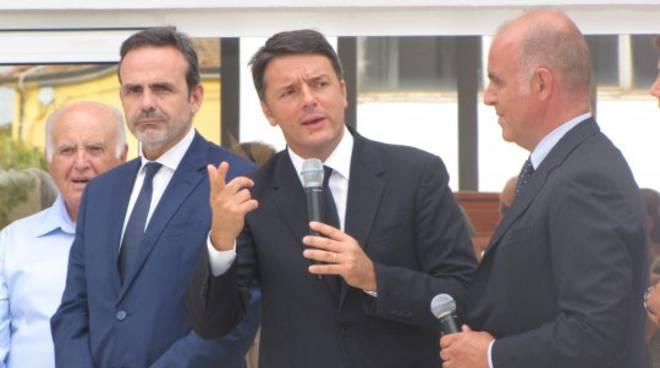 Il premier Matteo Renzi in Molise