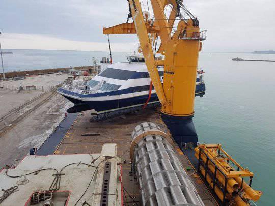 Il Termoli Jet lascia l'Italia