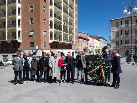 La celebrazione del 25 aprile a Campobasso