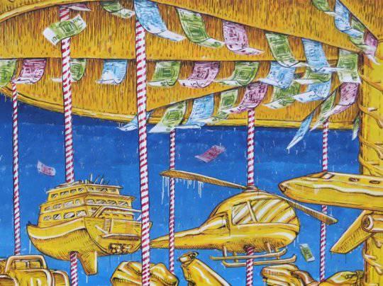 Guarda i dettagli del murales