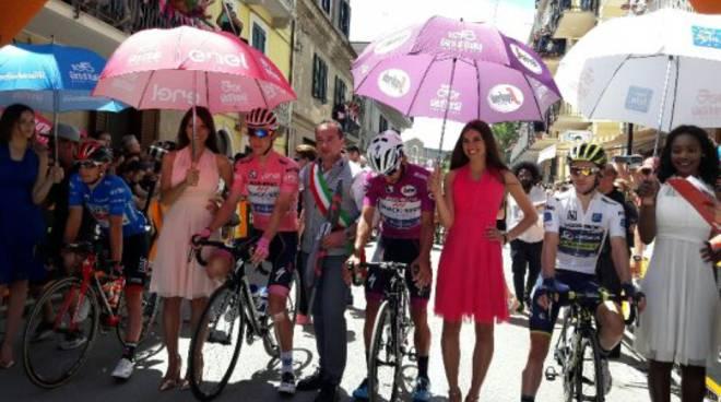 Il Giro d'Italia a Montenero