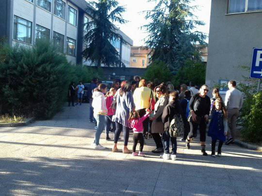 Il primo giorno di scuola a Campobasso