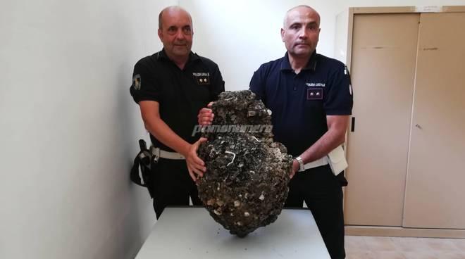 Anfora rinvenuta dalla Polizia Locale