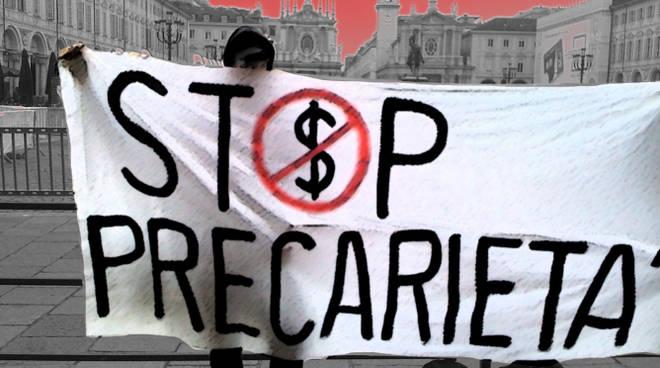 manifestazione stop precarietà