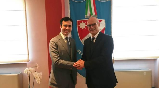 Toma con Fabio Perugia