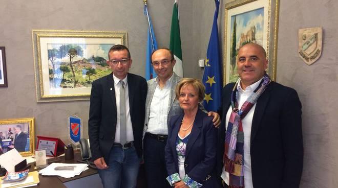 Vincenzo Cotugno con i vertici Unpli