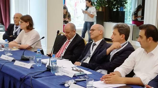 Donato Toma a Tirana