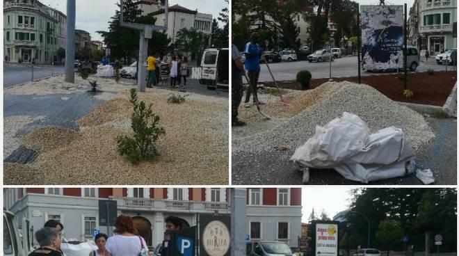 collage piazza Falcone e Borsellino 2