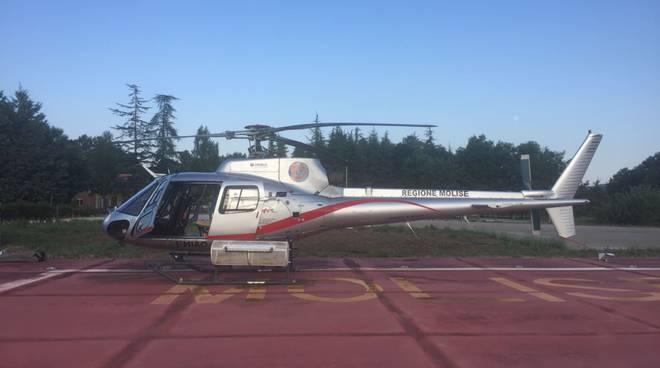 elicottero antincendio Regione Molise