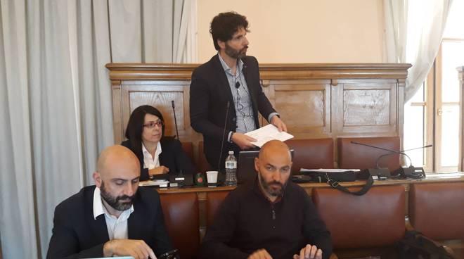 Roberto Gravina consiglio comunale di Campobasso