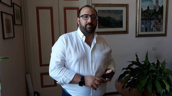 Nicola Circelli dal sindaco di Campobasso