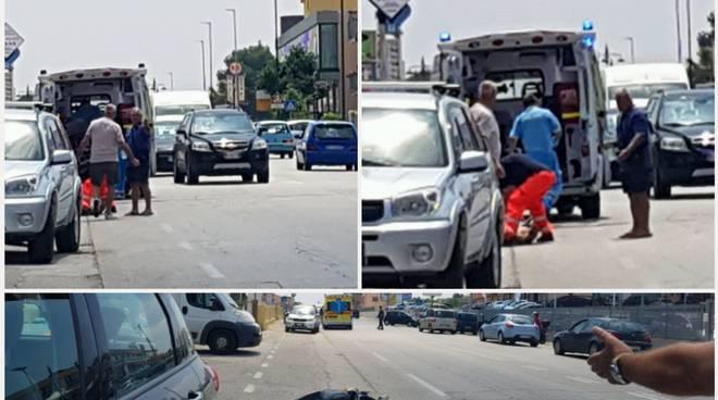 via Corsica incidente moto