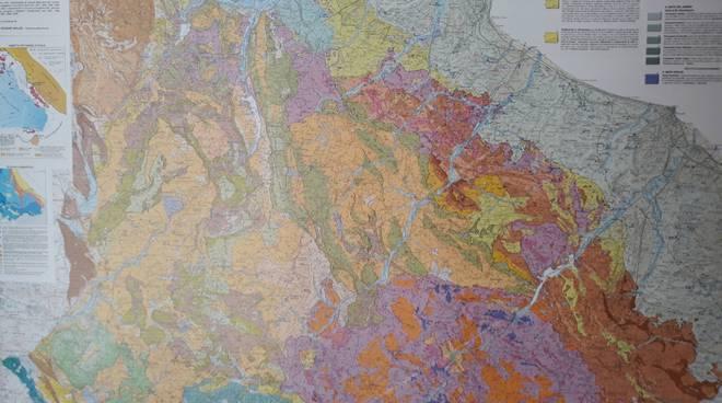 carta geologica del Molise