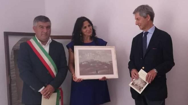Carmelina Colantuono e ambasciatore