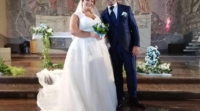 Enrico e Grazia sposi