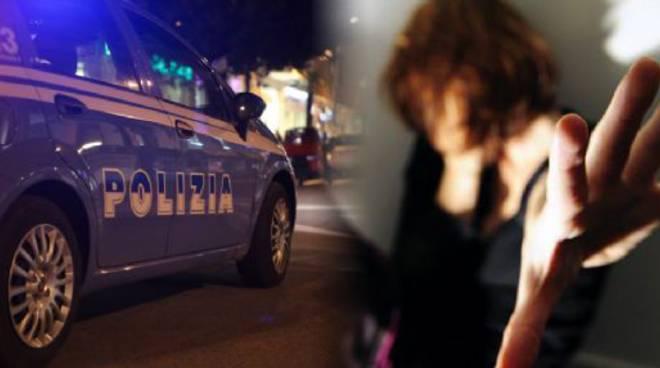 Polizia marito violento