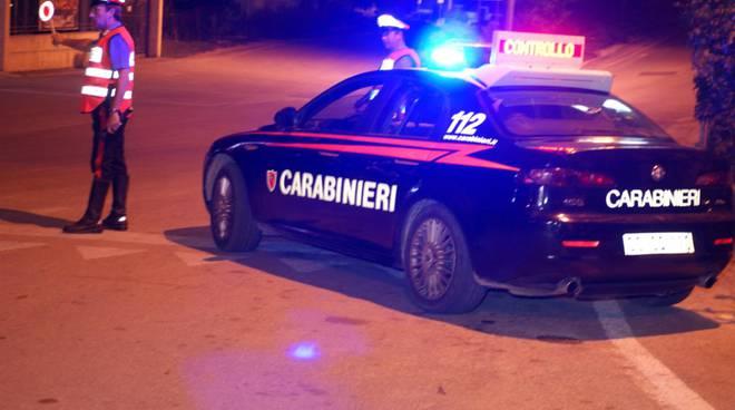 controlli Carabinieri notte
