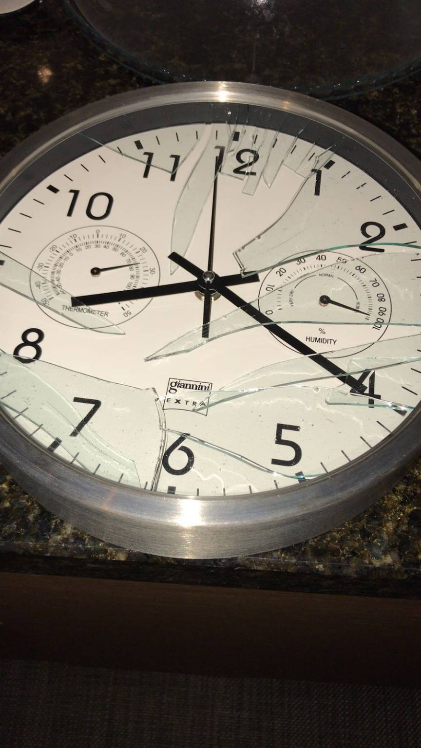 orologio terremoto
