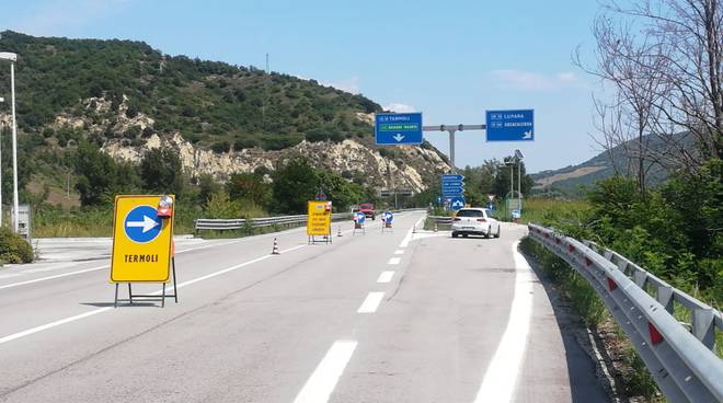deviazioni viadotto Liscione