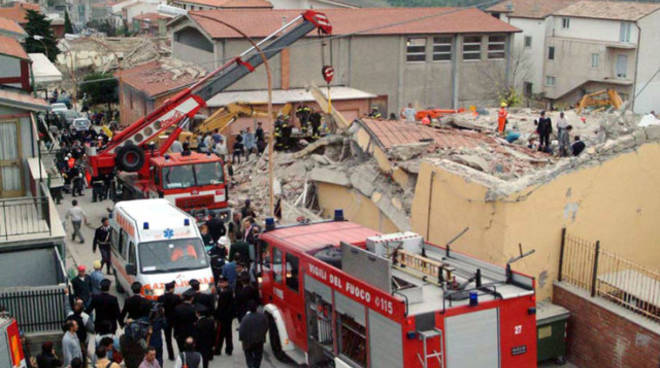 San Giuliano terremoto