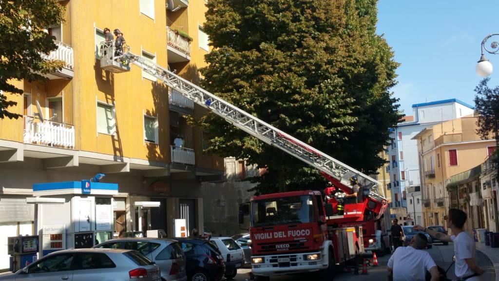 vigili del fuoco Guglionesi