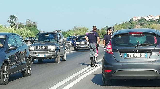 Traffico polstrada