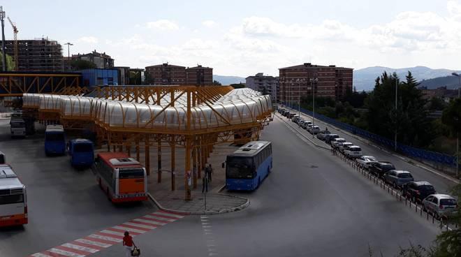 Terminal Campobasso dall'alto