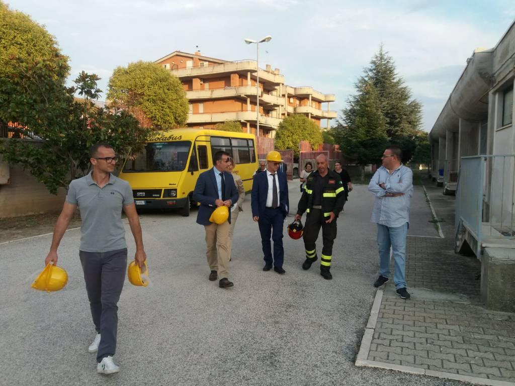 scuola visita vigili fuoco
