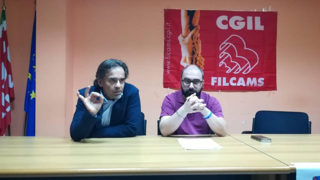 Capuano (cgil) e Guarracino (Uil)