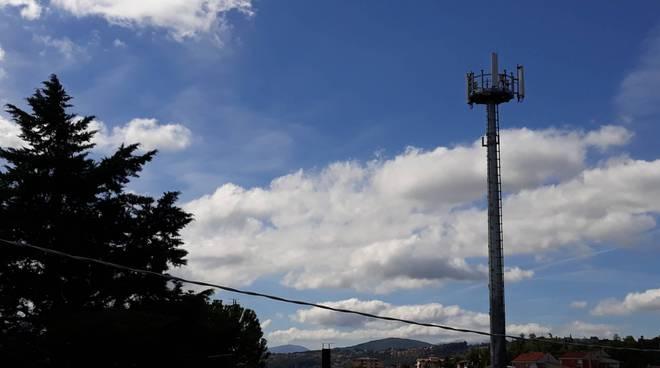 Antenna telefonia Via Piave
