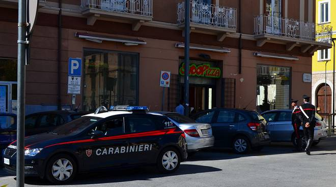 Carabinieri posteggi per disabili a Isernia