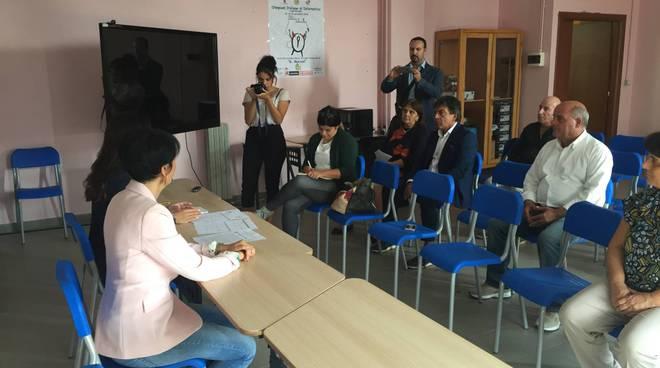 conferenza stampa olimpiadi
