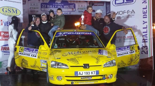 Rally del Molise Rivellino e Fratangelo