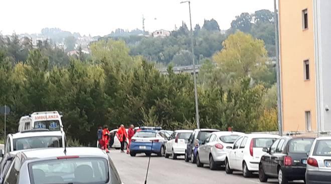 Via Quircio Campobasso Polizia e 118