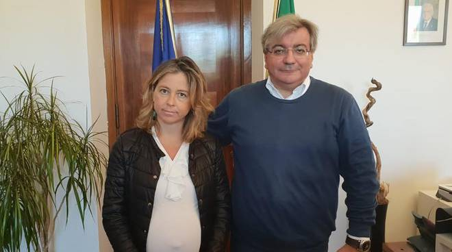 Costantino Gallo e Giulia Grillo