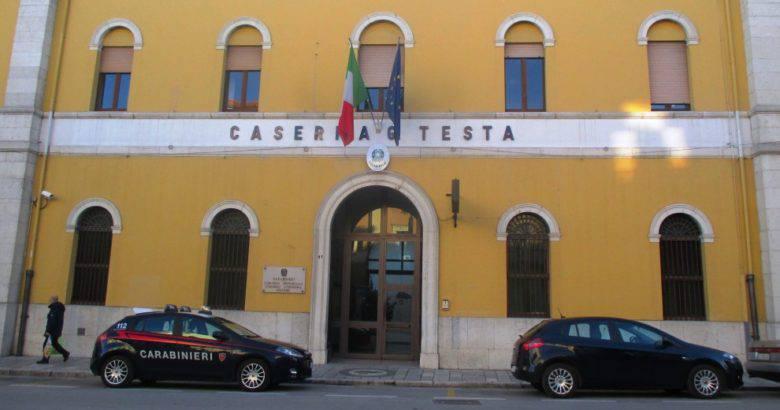 caserma carabinieri cb