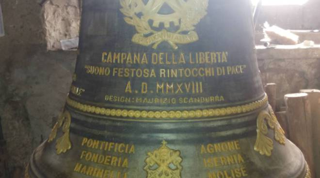 Le Campane Di Agnone.Una Campana Della Fonderia Di Agnone Per I 100 Anni Dalla