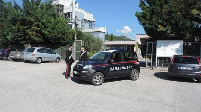 carabinieri infortunio sul lavoro Pozzilli