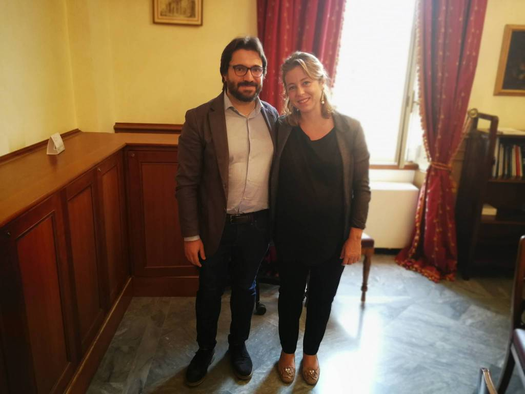Antonio Federico e Giulia Grillo
