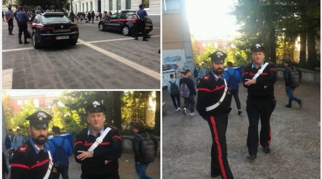 Controlli dei Carabinieri nelle scuole