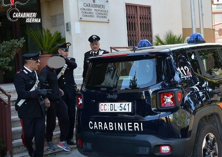 arresto rumeno Carabinieri Isernia