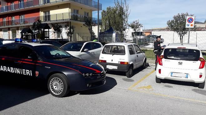 controlli stalli per disabili Carabinieri Isernia